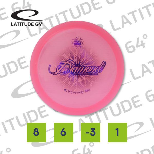 Diamond, Opto, 157g, Pink