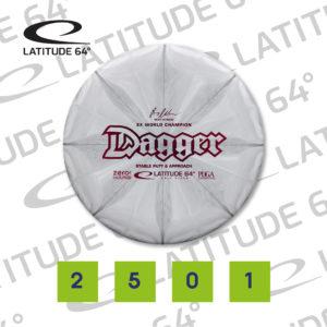 Dagger, Zero Hard, 175g, Pale White Pink