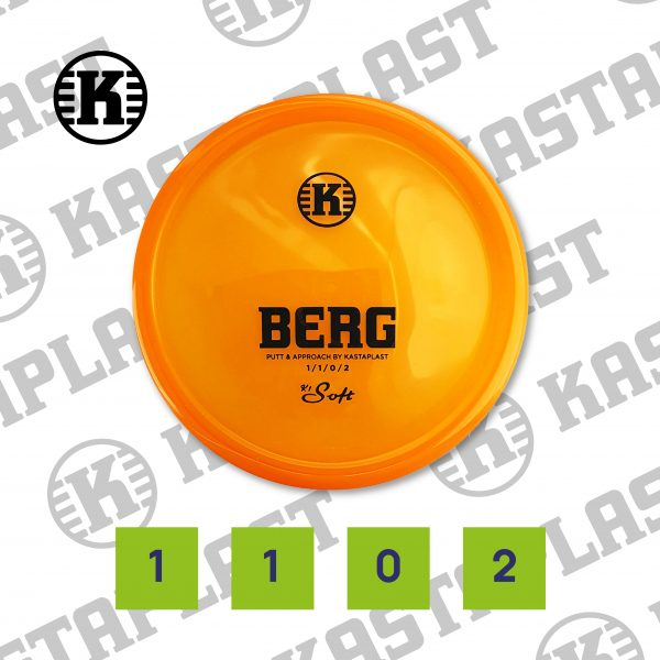 Berg, K1 Soft, 174g, Transparent Orange